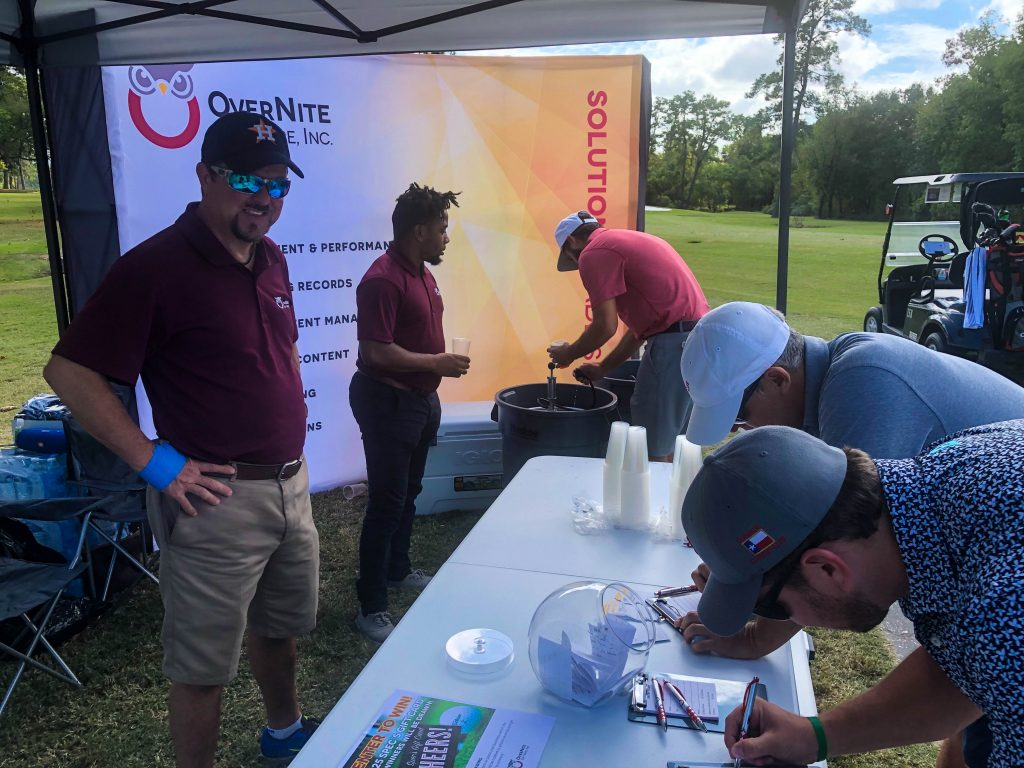 The OSI team at the Exxon Mobil Upstream/Global Projects UW Golf Tournament