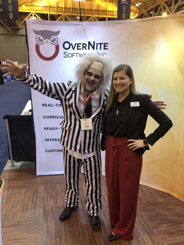 OSI Sales Manager Kevin Snedecor posing at Clean Gulf 2019